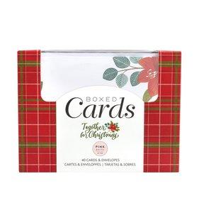 Set de tarjetas y sobres Together for Christmas