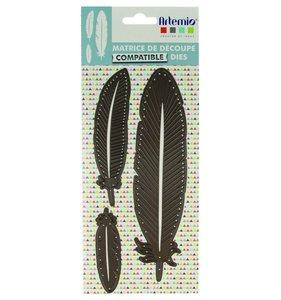 Troquel Feathers Totem