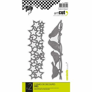 Troqueles Carabelle Stars and Birds