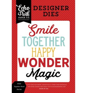 Troquel Smile Together Word