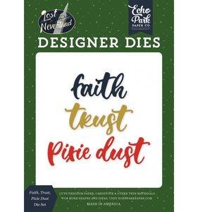 Set troqueles Faith, Trust, Pixie Dust