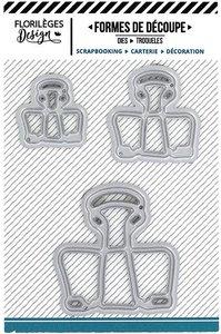 Troquel Florilèges mini Trois Clips