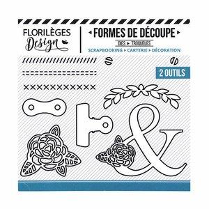 Troquel Florilèges Pinces et Vis