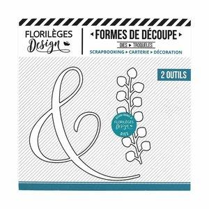 Troquel Florilèges Fine Esperluette