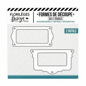 Troquel Florilèges Porte-Etiquettes