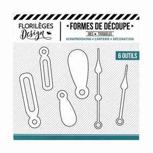 Troquel Florilèges Flipettes et Aiguilles