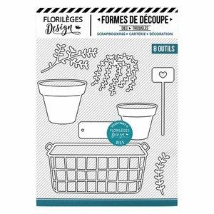 Troquel Florilèges Plantes en Pots