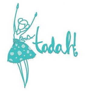 Jane Davenport Artomology Troqueles Tadah Girl