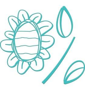 Jane Davenport Artomology Troqueles Sunflower