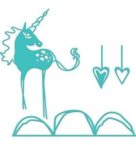 Jane Davenport Artomology Troqueles Unicorn