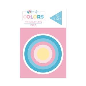 Troqueles básicos Kimidori Colors Mini Círculos