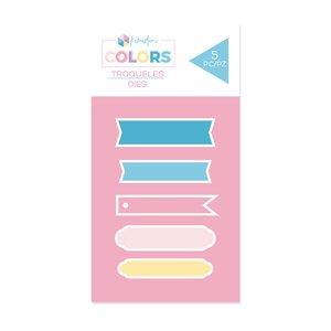 Troqueles Kimidori Colors Set Banners
