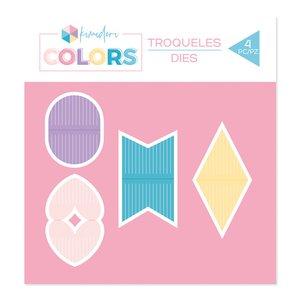Troquel Kimidori Colors Set Banderolas de flecos