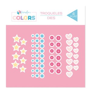 Troquel Kimidori Colors Confetti Básicos