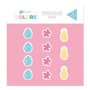 Troquel Kimidori Colors Confetti Tropical