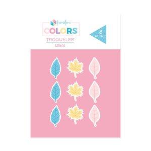 Troquel Kimidori Colors Confetti hojas de Otoño