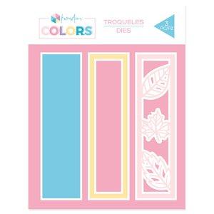 """Troquel Kimidori Colors Lomo Shaker 6"""" Otoño"""