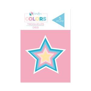 Troqueles básicos Kimidori Colors Mini Estrellas