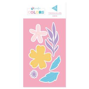 Troquel Kimidori Colors Flores 1
