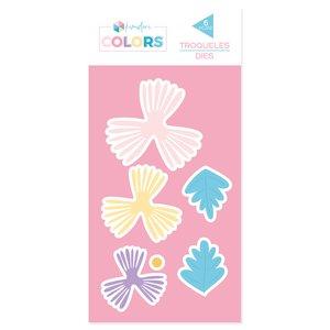 Troquel Kimidori Colors Flores 2