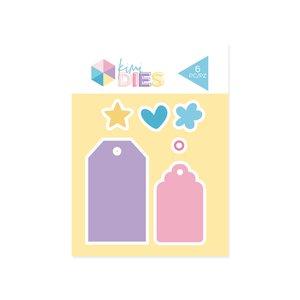 KIMIDIES Troquel Kimidori Colors Mini Tags
