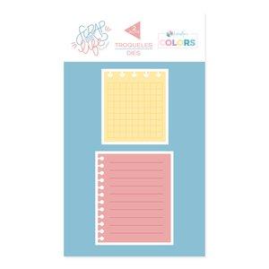 Troquel Scrap Your Life Kimidori Colors Hojas de cuaderno