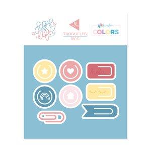 Troquel Scrap Your Life Kimidori Colors Clips