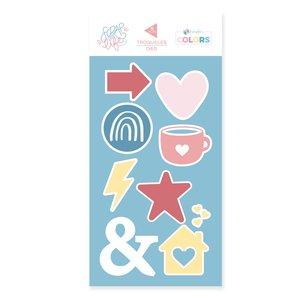 Troquel Scrap Your Life Kimidori Colors Iconos básicos