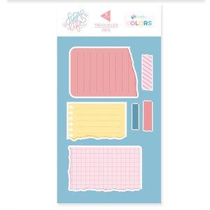 Troquel Scrap Your Life Kimidori Colors Hojas de cuaderno rasgadas