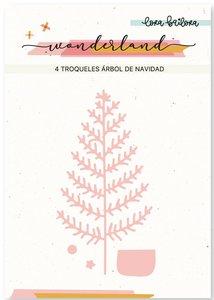 Troquel Lora Bailora Árbol de Navidad
