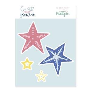 Troquel Estrellas decoradas