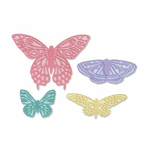 Troqueles Thinlits Sizzix Flutter On By