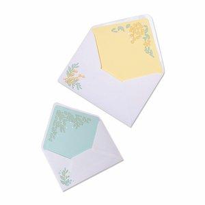 Troqueles Thinlits Sizzix Foliage Envelope Liners