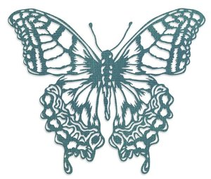 Troqueles Thinlits Sizzix-Tim Holtz Perspective Butterfly