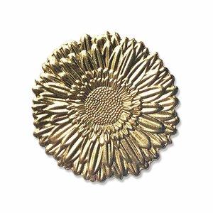 Troquel y carpeta de embossing Sizzix Impresslits 3D Gerbera