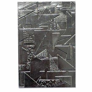 Carpeta embossing 3D Textured Sizzix Doodle Triangles