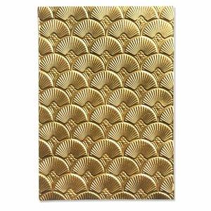 Carpeta embossing 3D Textured Sizzix Art Deco