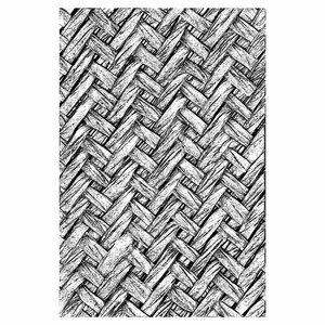 Carpeta embossing 3D Textured Sizzix-Tim Holtz Intertwitned