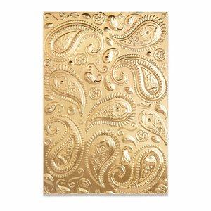 Carpeta embossing 3D Textured Sizzix Paisley