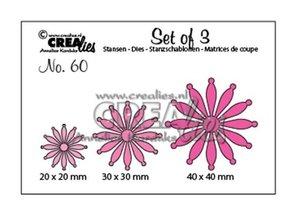 Troqueles Crealies Set Flowers n60