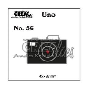 Troqueles Crealies Uno Camera