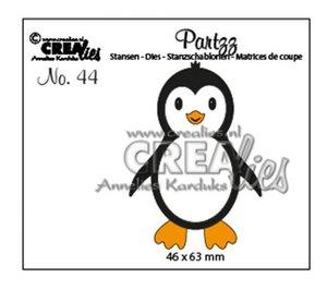 Troqueles Crealies Partz Penguin
