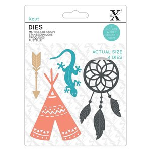 Troqueles Xcut Dream Catcher 4 pcs