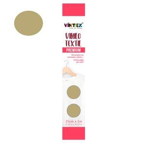 Vinilo textil Premium Vintex planchado rápido Oro