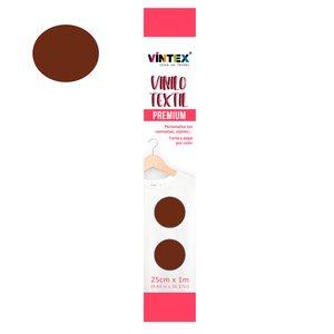 Vinilo textil Premium Vintex planchado rápido Cobre
