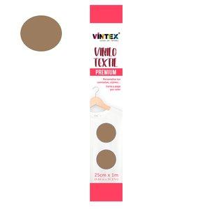Vinilo textil Premium Vintex planchado rápido Bronce