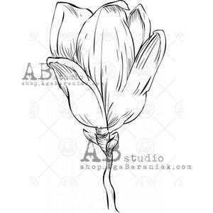 Sellos de caucho AB Studio ID-1082 Magnolia 2