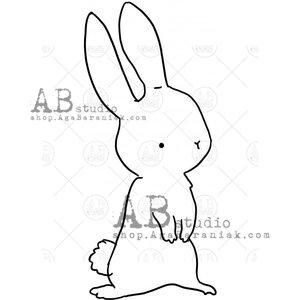 Sellos de caucho AB Studio ID-1044 Hare