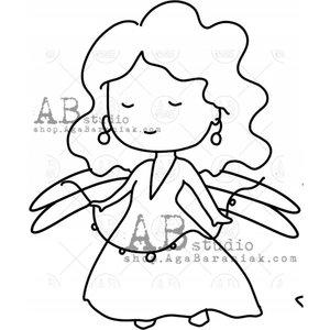 Sellos de caucho AB Studio ID-1007 Fairy 5