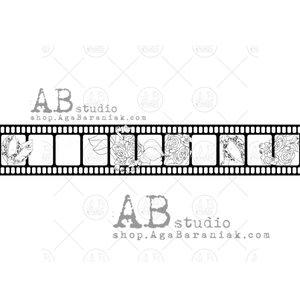 Sellos de caucho AB Studio ID-327 Filmstrip